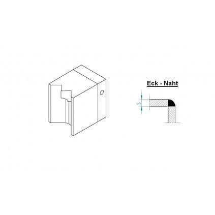 Botka vnější roh