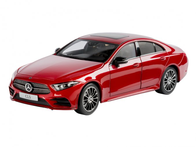 Mercedes-AMG CLS Coupé C257 designo hyacinth red metallic