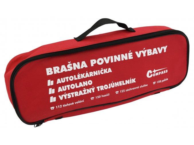 Brašna s povinnou výbavou 216/2010 sb. MD