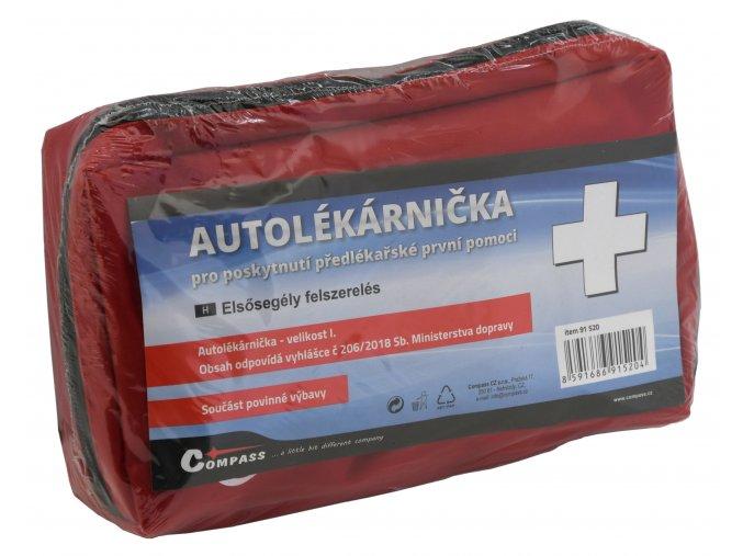 Lékárnička I. textilní brašna 206/2018 sb.