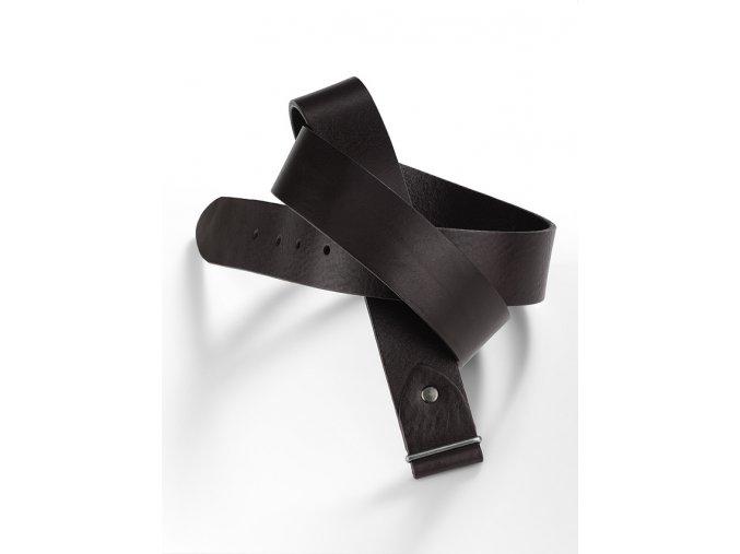 Kožený pásek bez spony