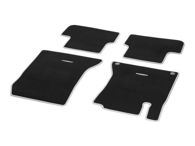 Velurové koberce CLASSIC, sada, 4-kusové