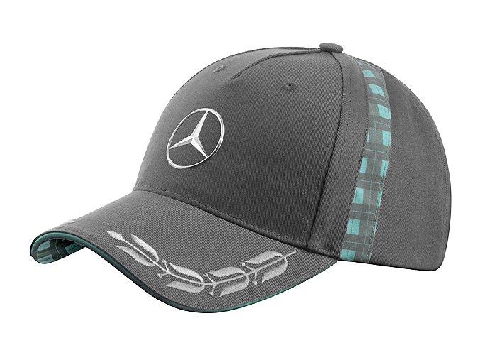 Čepice Mercedes-Benz. Retro zelená