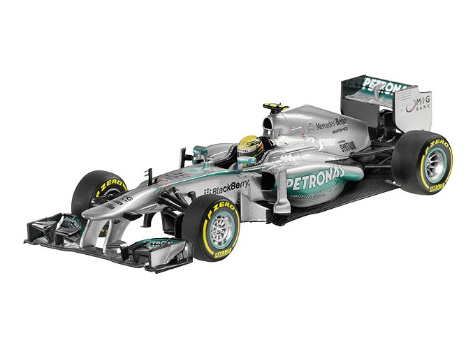 MERCEDES AMG PETRONAS Formula One™ Team, 2013, Lewis Hamilton