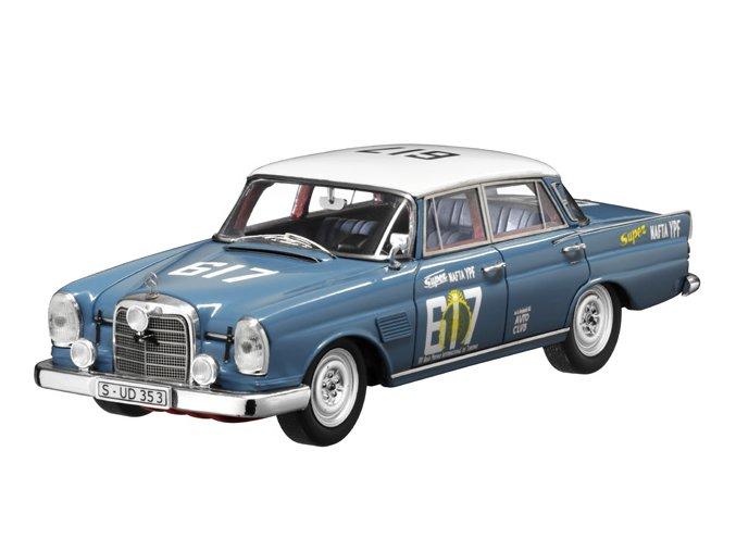 Mercedes-Benz 300 SE Rallyefahrzeug 1964, W 112/3  blau