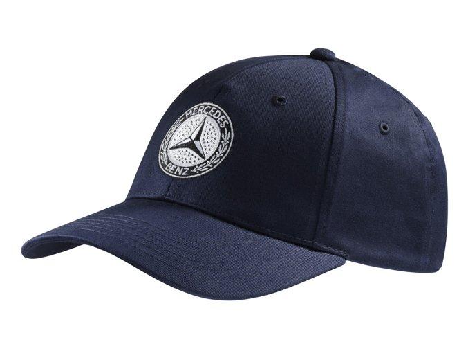 Čepice Mercedes-Benz modrá Classik dámská
