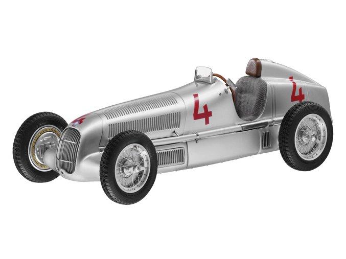 Mercedes-Benz W 25, 1935, GP Monaco Startnummer 4 L. Fagoli