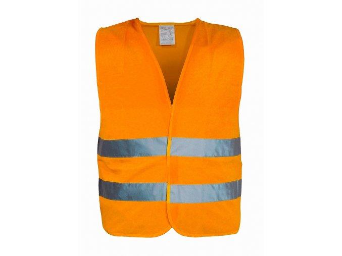 Vesta výstražná oranžová XL EN 20471:2013 + A1:2016