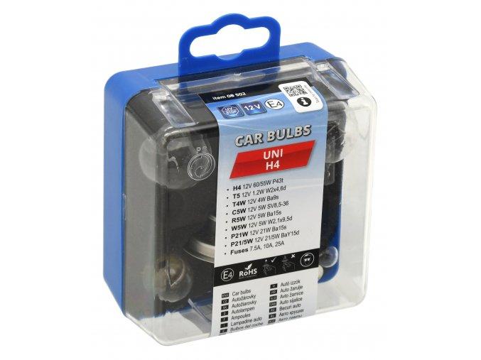 Žárovky servisní box univerzální H4