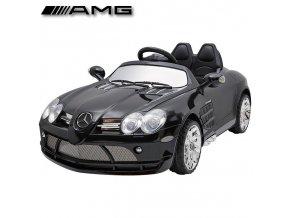 Mercedes SLR McLaren v černé barvě