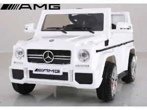 Mercedes G65 AMG v  bílé barvě