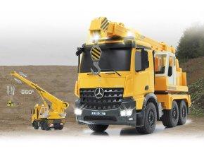 Autojeřáb Liebherr Mercedes-Benz AROCS 2,4 Ghz