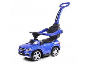 Mercedes Benz GL63AMG - Slide Car 3v1 Modrá