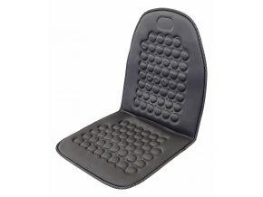 Potah sedadla masážní s magnety šedý