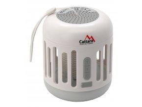 Svítilna MUSIC CAGE Bluetooth nabíjecí + UV lapač hmyzu