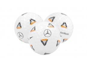 Golfové míčky Mercedes-Benz, sada 3 ks