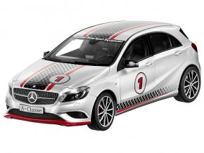 "Mercedes-Benz A-Klasse ""Road"" & ""Track""  polarsilber"