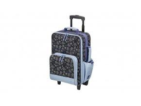 Chlapecký školní kufřík s kolečky