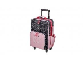 Dívčí školní kufřík s kolečky