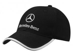 Čepice Mercedes-Benz - černá s logem