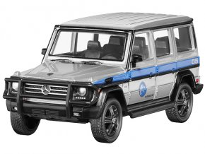 Mercedes-Benz G 550 (W463), Jurassic World  silber, Jada Toys
