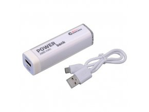 POWER BANK 2600mA  + 30cm kabel