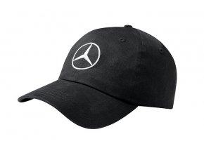 Černá kšiltovka s logem Mercedes-Benz