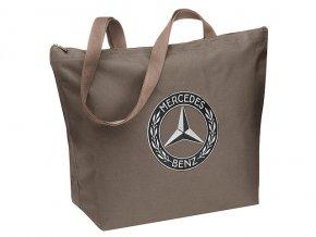 Nákupní hnědá taška - Shopper Classic