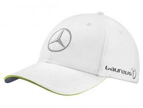 Golfová čepice bílá Laureus - SPORT FOR GOOD