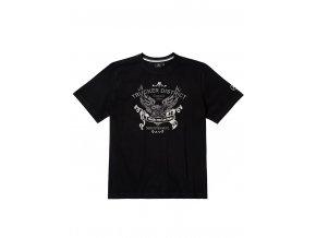 """Pánské triko černé """"TRUCKER DISTRICT"""""""