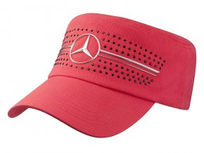 Dámská čepice červená