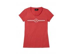Dámské červené triko