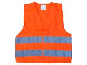 Vesta výstražná oranžová dětská EN 1150
