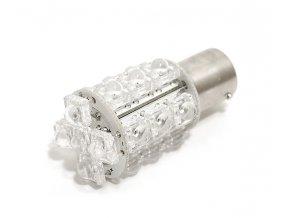 Žárovka 20 SUPER LED 12V Ba15s oranžová