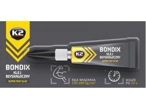 K2 BONDIX 3 g - vteřinové lepidlo