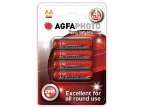 Baterie zinková AA AGFAPHOTO, blistr 4ks