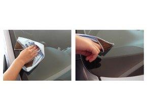 Mycí utěrka na sklo MICROFIBER 40x40cm KENCO
