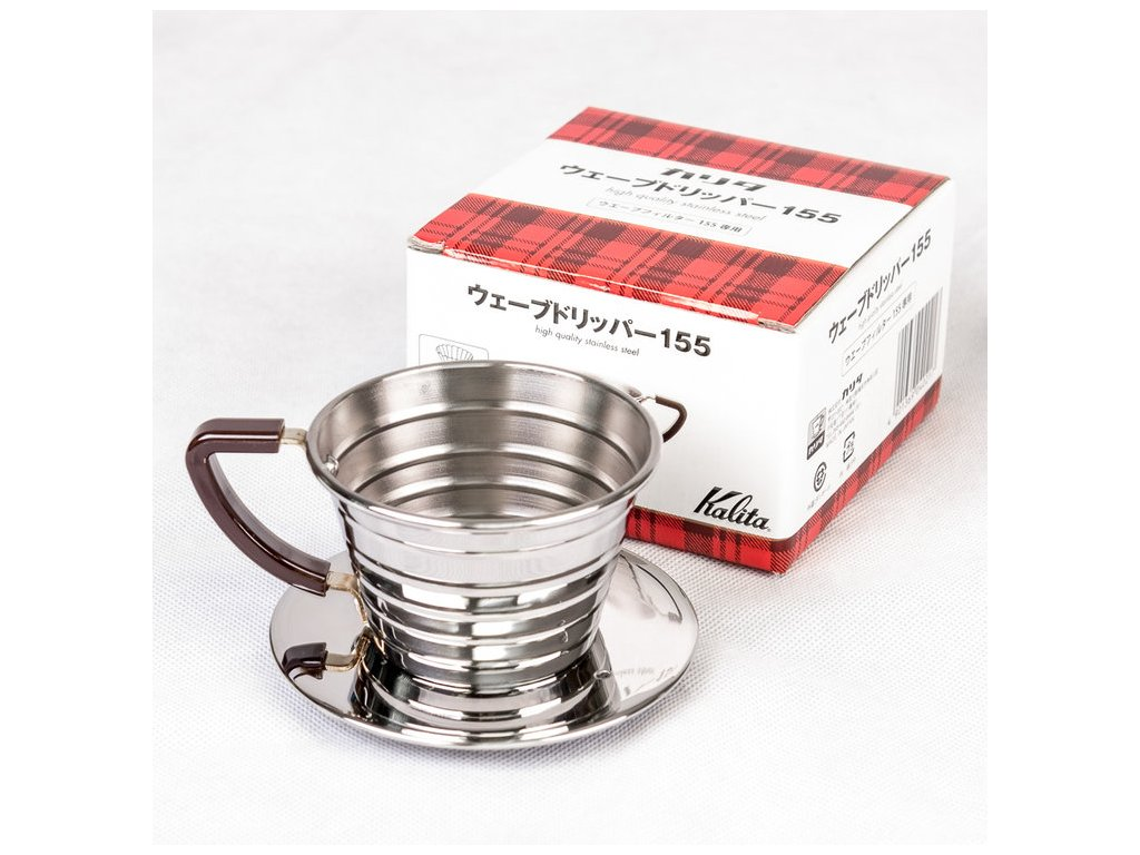 Kalita Stainless steel Dripper 155