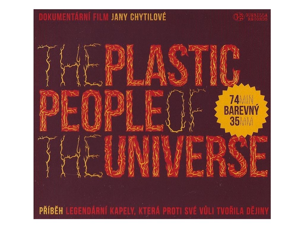 The Plastic People of the Universe - DVD režie J.Chytilová (2020) - front