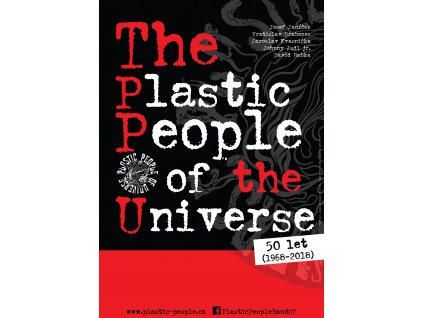 Plakát The Plastic People of the Universe - 50 let (1968-2018) A2