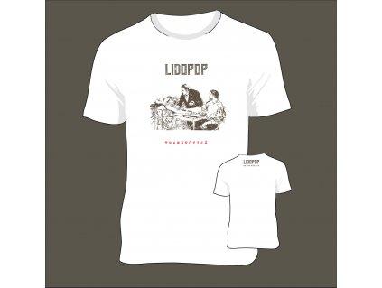 T Shirt Lidopop transfúzijá white