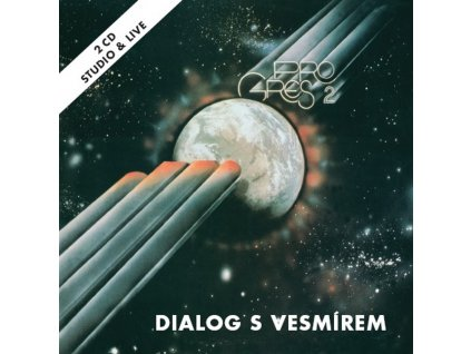 Progres 2 - Dialog s vesmírem - 2CD - front