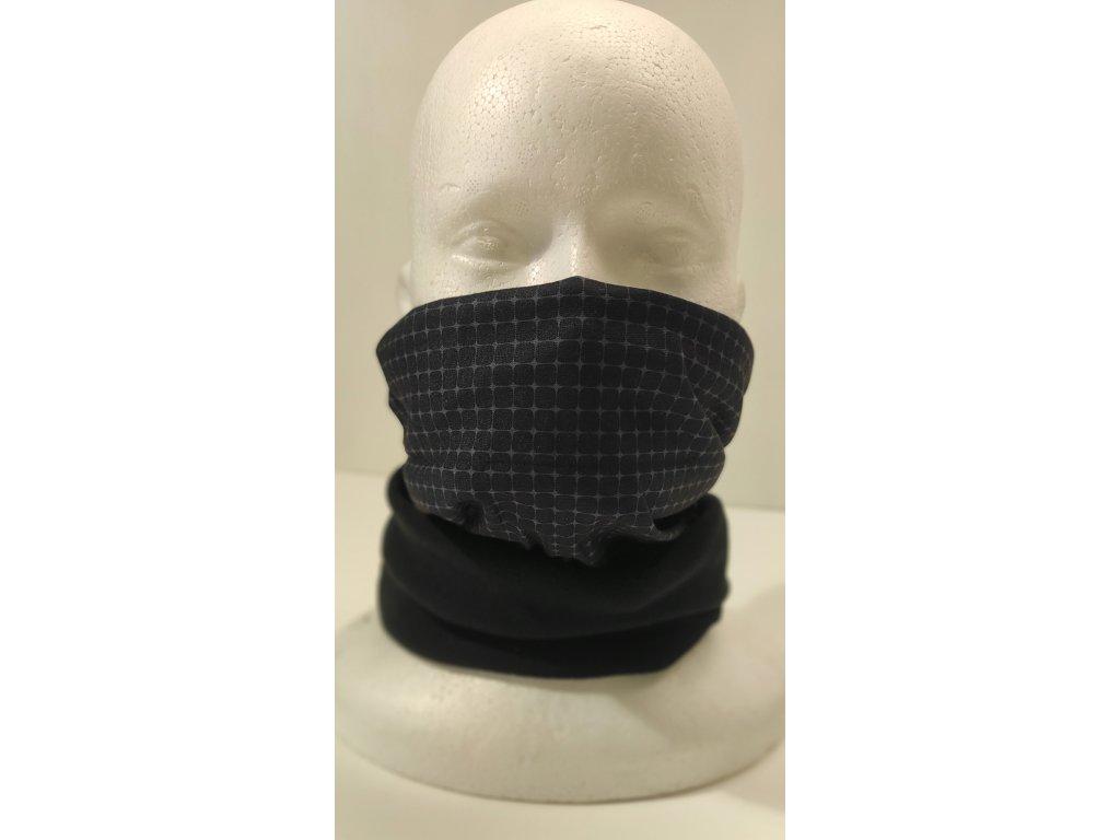 Multifunkční šátek Mercox warm skull
