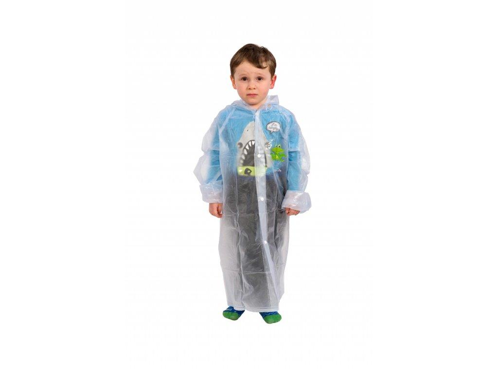 Dětská pláštěnka Mercox transparent