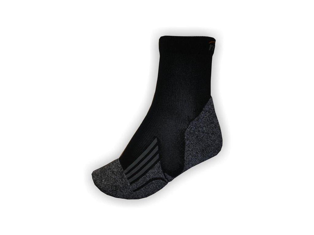 Mercox Cycklo ponožky black