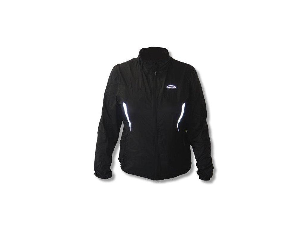Mercox Irbis black běžecká bunda dámská