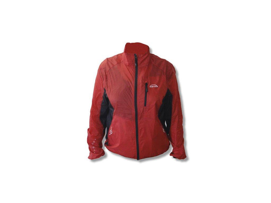 Mercox Puma red běžecká bunda