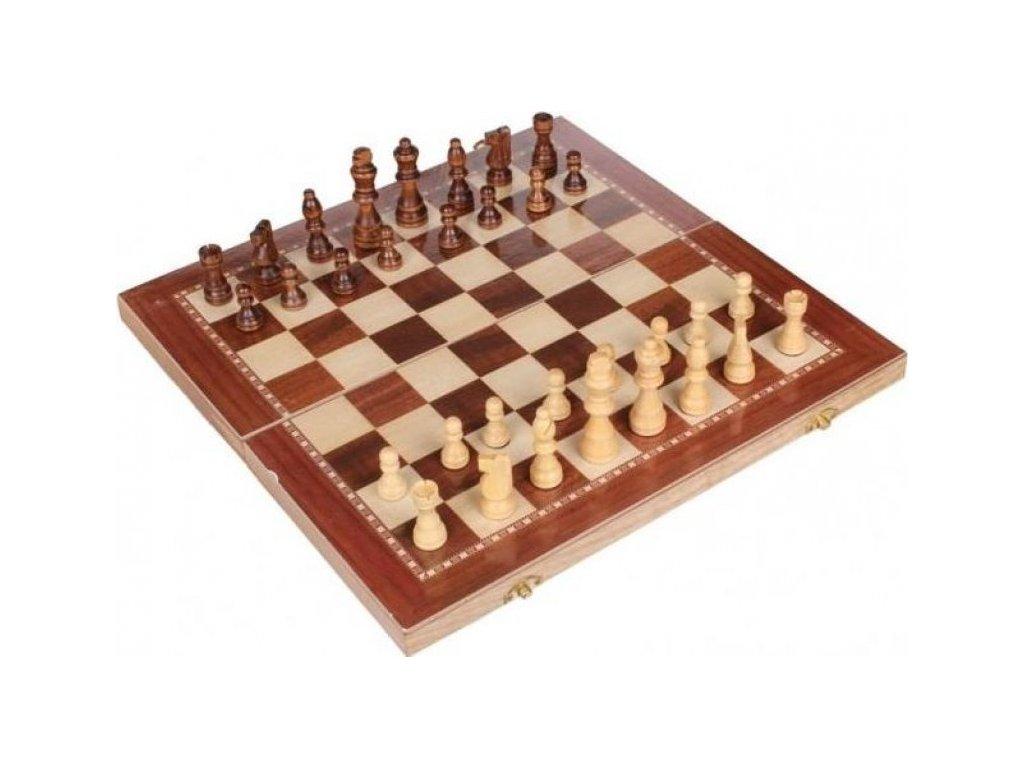 Šachy Sedco dřevěné 96 C03 39 x 39 cm  0254