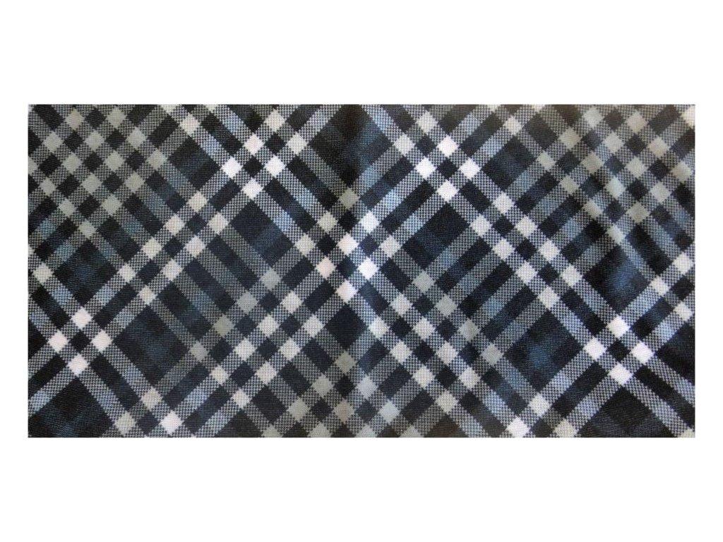 Multifunkční šátek Mercox stripped black,grey