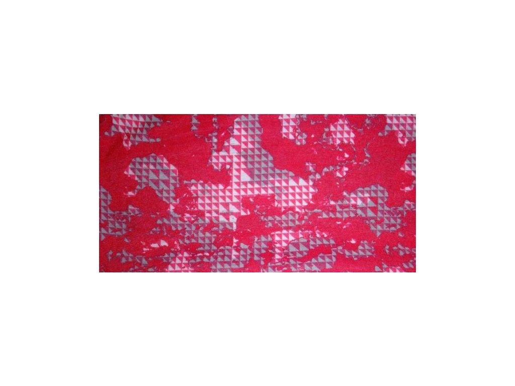 Multifunkční šátek Mercox  flowers pink